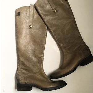 Sam Edelman tall brown leather Penny boots